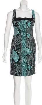 Antonio Berardi Jacquard Mini Dress