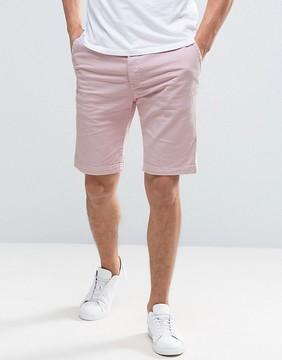 Edwin Rail Denim Short Pink Wash