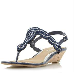 Head Over Heels *Head Over Heels by Dune 'Naavi' Wedge Sandals