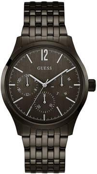 GUESS Men's Black Stainless Steel Bracelet Watch 42mm