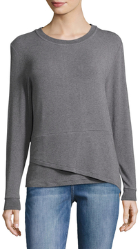 Lot 78 Lot78 Women's Lux Double Hem Crew