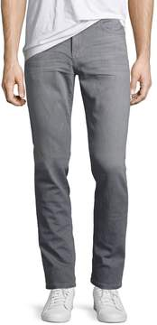 Joe's Jeans Slim Straight-Leg Jeans, Gray