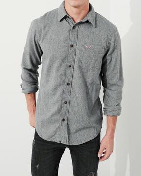 Hollister Stretch Flannel Shirt