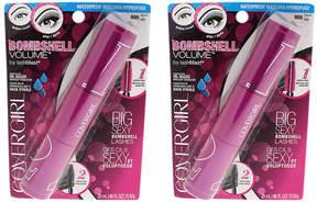 Cover Girl Black Bombshell Volume Waterproof Mascara - Set of Two