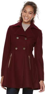 Apt. 9 Women's Wool Blend Double-Breasted Coat