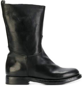 Silvano Sassetti mid-calf zip boots