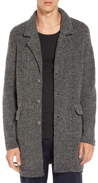 BOSS ORANGE Men's Adegraf Longline Cardigan