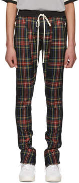 Fear Of God Multicolor Wool Plaid Trousers