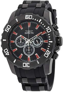 Invicta Pro Diver Black GMT Chronograph Men's Watch