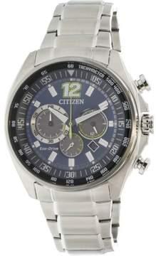 Citizen Men's CA4198-87L Silver Stainless-Steel Japanese Quartz Fashion Watch