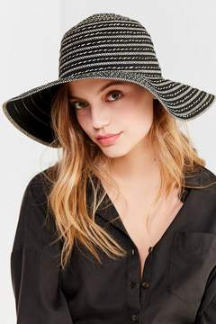 Urban Outfitters Ribbon Spiraled Wide-Brim Hat