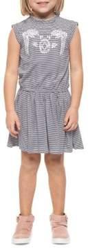 Dex Little Girl's Striped Sleeveless Dress