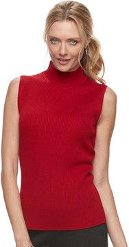 Dana Buchman Women's Sleeveless Turtleneck Top