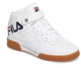 Fila Boy's Original Fitness Logo Mid Top Sneaker