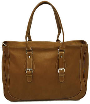 Piel Women's Leather Shoulder Buckle Tote 2762