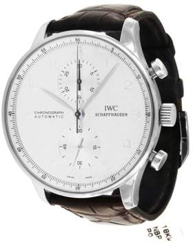 IWC Portuguese IW3714 Chronograph White Gold Automatic 41mm Mens Watch