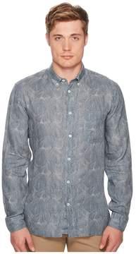 Billy Reid Tuscumbia Print Shirt Men's Clothing