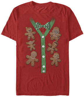 Fifth Sun Star Wars Red X-Mas Cookies Tee - Men's Regular