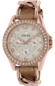 Fossil Women's ES3466 Riley Stainless Steel Watch, 38mm