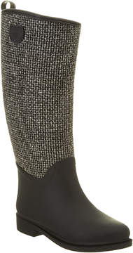 dav Cardiff Tweed Rain Boot