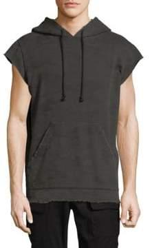 Hudson Short-Sleeve Cotton Hoodie
