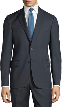 Hickey Freeman Two-Piece Wool Suit, Navy