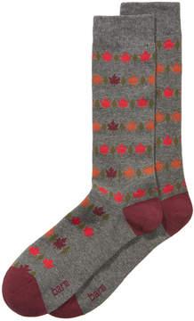 Bar III Men's Leaf Socks, Created for Macy's