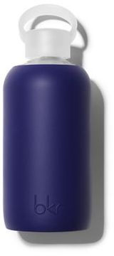 bkr Boss Opaque Deep Purplish Navy Glass Water Bottle/16 oz.
