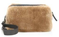 Brunello Cucinelli Beaver Fur Crossbody Bag