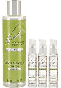 Nick Chavez 8 oz. Velvet Mesquite Serum with Three Travel Sizes