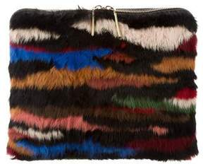 3.1 Phillip Lim Minute Fur Clutch