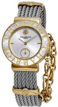 Charriol St Tropez Mother of Pearl Dial Two Tone Ladies Watch