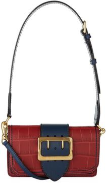 Burberry Alligator Buckle Bag - RED - STYLE