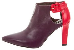 LK Bennett Leather Scarlet Booties w/ Tags