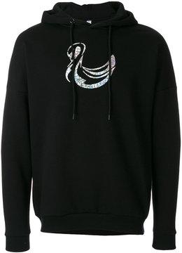 Cottweiler printed hoodie