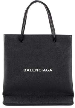 Balenciaga Shopping Paper Small leather tote