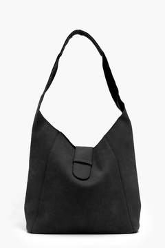 boohoo Melissa Unlined Suedette Hobo Day Bag