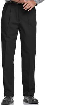 Lee Men's Relaxed-Fit Stain Resist Pleated Pants