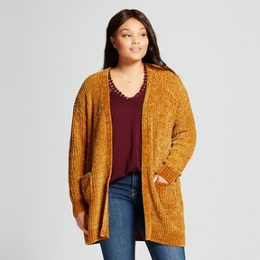 Ava & Viv Women's Plus Size Chenille Cardigan