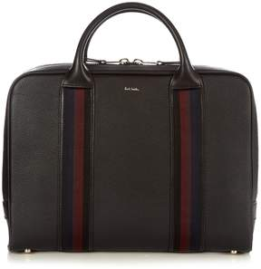Paul Smith City-Webbing leather holdall