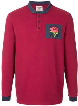 Kent & Curwen patched polo shirt