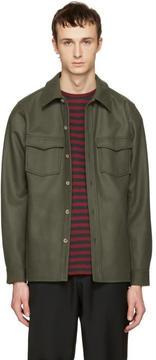 A.P.C. Green Bleach House Shirt