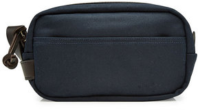 Filson Cotton Twill Toiletries Case with Leather