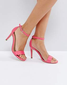 Call it SPRING Ahlberg Pink Heeled Sandal