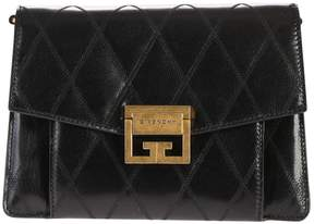 Givenchy Black Small Gv3 Quilted Bag