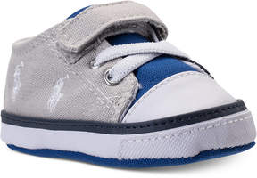 Polo Ralph Lauren Baby Boys' Kody Layette Casual Crib Sneakers from Finish Line