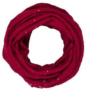 St. John Sequined Infinity Scarf