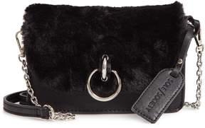 Sole Society Lebra Faux Fur Crossbody Bag