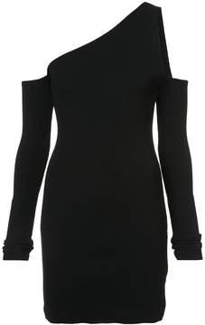 Amiri one shoulder fitted dress