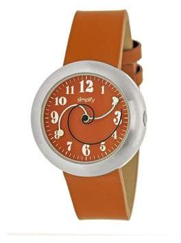 Simplify The 2700 Orange Watch.